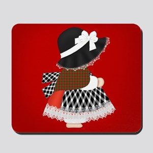 Welsh Lady In Costume, Mousepad