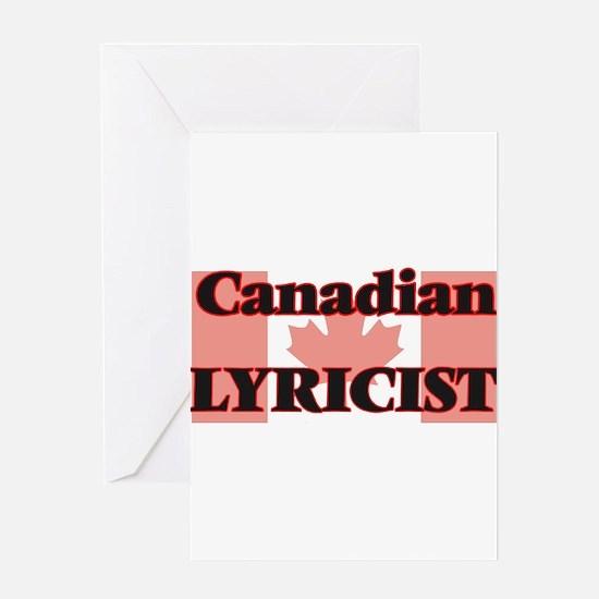 Canadian Lyricist Greeting Cards