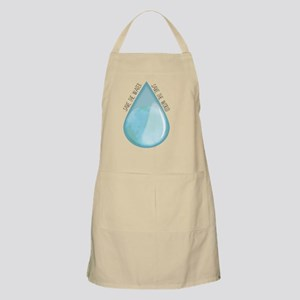 Save the water, Save the world Apron
