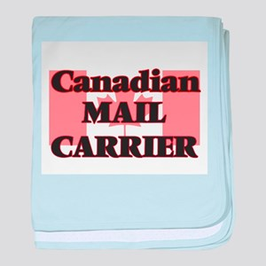 Canadian Mail Carrier baby blanket