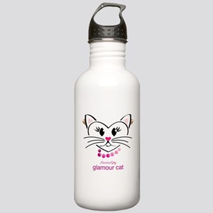 Glamour Cat Water Bottle