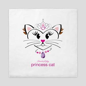 Princess Cat Queen Duvet