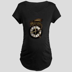 time dragon Maternity T-Shirt