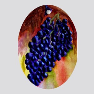 """""""Tuscan Cluster"""" Oval Ornament"""