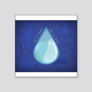 Save water, save world II Sticker