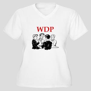 funny bridge joke Plus Size T-Shirt