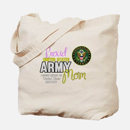 Proud Army Mom Seal Tote Bag