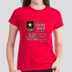 I am an Army Mom No Fear T-Shirt