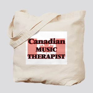 Canadian Music Therapist Tote Bag