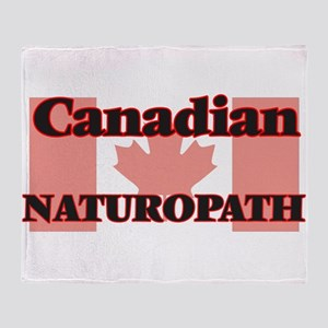 Canadian Naturopath Throw Blanket