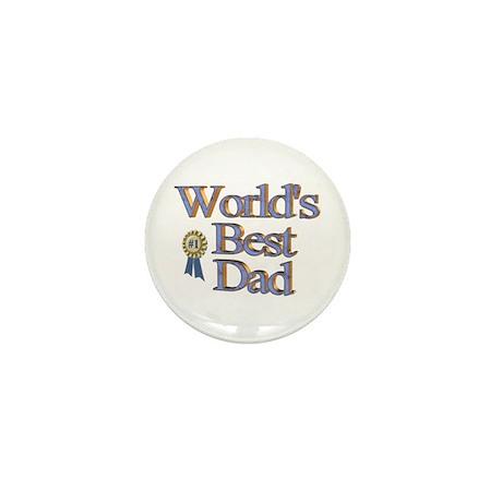 World's Best Dad! Mini Button (10 pack)