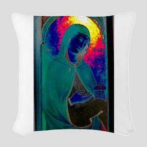 Magdalene & Jar Woven Throw Pillow