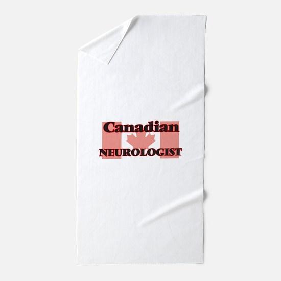 Canadian Neurologist Beach Towel