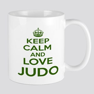 Keep calm and love Judo 11 oz Ceramic Mug