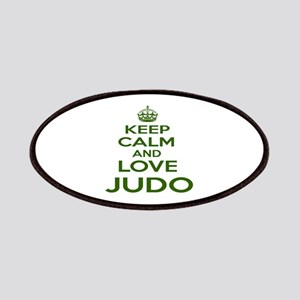 Keep calm and love Judo Patch
