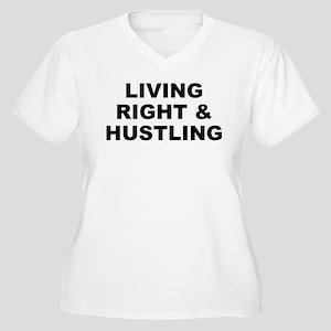 L.r.h. Women's V-Neck Plus Size T-Shirt