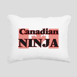 Canadian Ninja Rectangular Canvas Pillow