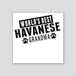 Worlds Best Havanese Grandma Sticker