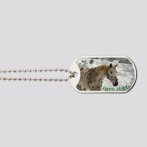 Appaloosa in the Snow Dog Tags
