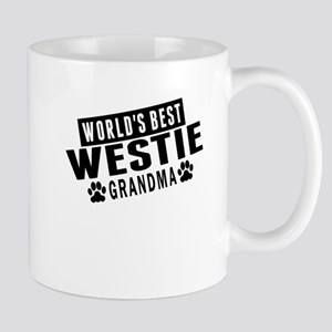 Worlds Best Westie Grandma Mugs