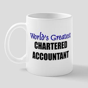 Worlds Greatest CHARTERED ACCOUNTANT Mug