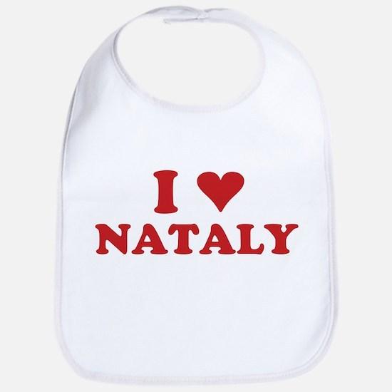 I LOVE NATALY Bib