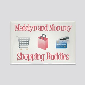 Madelyn - Shopping Buddies Rectangle Magnet (10 pa