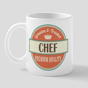 chef vintage logo Mug