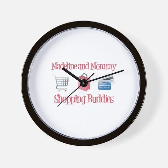 Madeline - Shopping Buddies Wall Clock