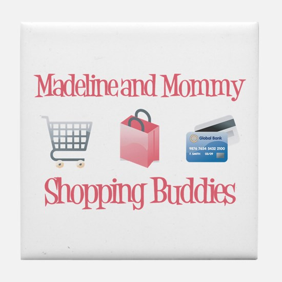 Madeline - Shopping Buddies Tile Coaster
