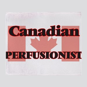 Canadian Perfusionist Throw Blanket