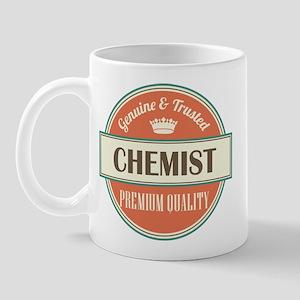 chemist vintage logo Mug