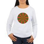 Holiday Pattern 001 Women's Long Sleeve T-Shirt