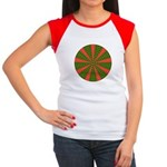 Holiday Pattern 001 Women's Cap Sleeve T-Shirt