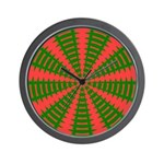 Holiday Pattern 001 Wall Clock