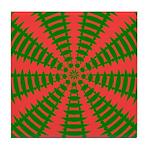 Holiday Pattern 001 Tile Coaster