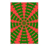 Holiday Pattern 001 Postcards (Package of 8)