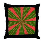 Holiday Pattern 001 Throw Pillow