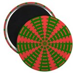 Holiday Pattern 001 Magnet