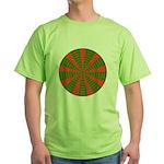 Holiday Pattern 001 Green T-Shirt
