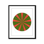 Holiday Pattern 001 Framed Panel Print
