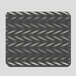 Trendy Waves Mousepad