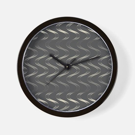 Trendy Waves Wall Clock