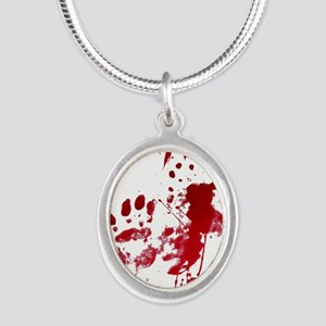 blood Splatter I Am Fine Necklaces