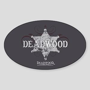 Deadwood Star Sticker (Oval)