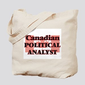 Canadian Political Analyst Tote Bag