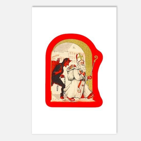 Krampus 014 Postcards (Package of 8)