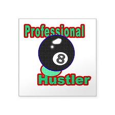 Pro 8 Ball Hustler Square Sticker 3