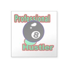 Pro 8 Ball Hustler Square Sticker 3