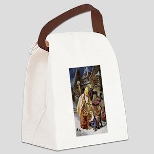 Krampus 005 Canvas Lunch Bag